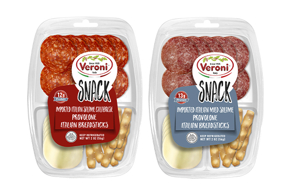 Veroni has created yet another premium snacking line for the deli case