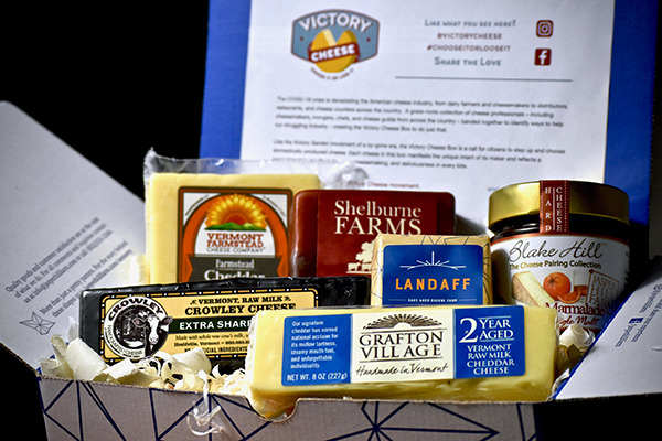 Victory Cheese is a task force to make an unprecedented effort to save small cheese companies that have suffered financially