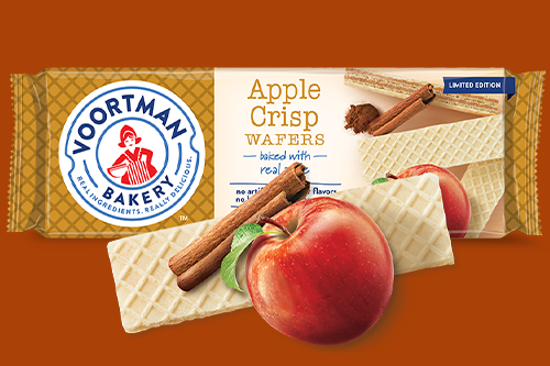 A leader in snack wafers and sugar-free cookies, Voortman will be acquired by snack giant Hostess in early January 2020