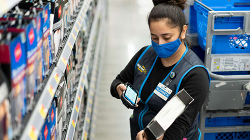 Walmart has announced plans that it will be turning four of its stores near its Bentonville, Arkansas, headquarters into laboratories to test the ways in which it can better streamline the relationships between brick-and-mortar stores and its online business to give it a competitive edge (Photo credit: Walmart)