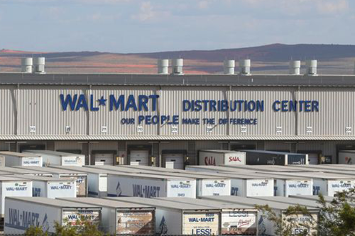 """Walmart is rolling out 42 """"pop-up"""" e-commerce fulfillment centers inside dozens of its regional distribution facilities (DC)"""