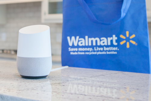 Google Express now offers voice ordering from Walmart