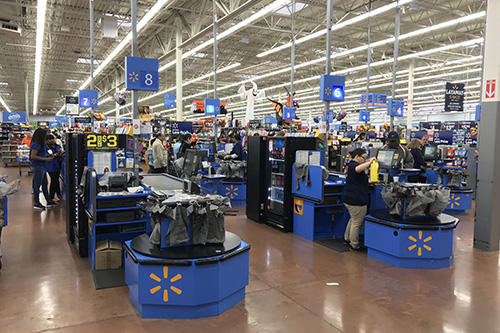 Walmarts Supercenter approach offers customers a service other e-commerce retailers are not able to offer