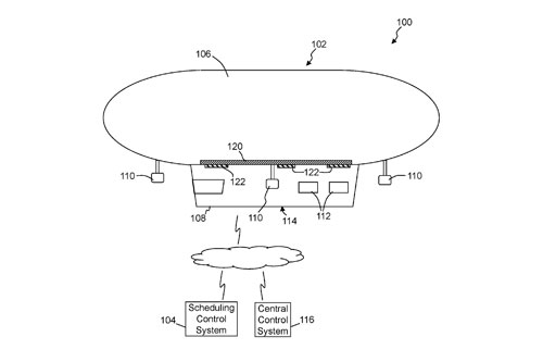 Walmart Floating Warehouse Patent