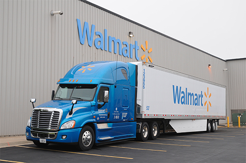 Walmart hired around 1,400 new drivers this year, up from just 922 in 2017
