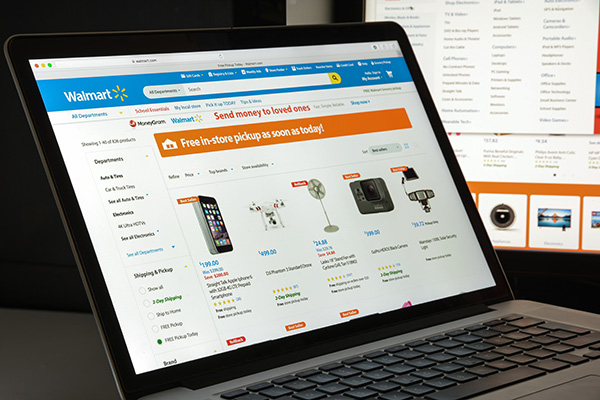 Shopping Walmart Online
