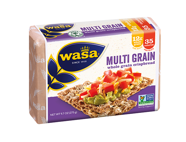 Celebrating over 100 years as a leading crispbread provider, Wasa crackers deliver nostalgia in every bite