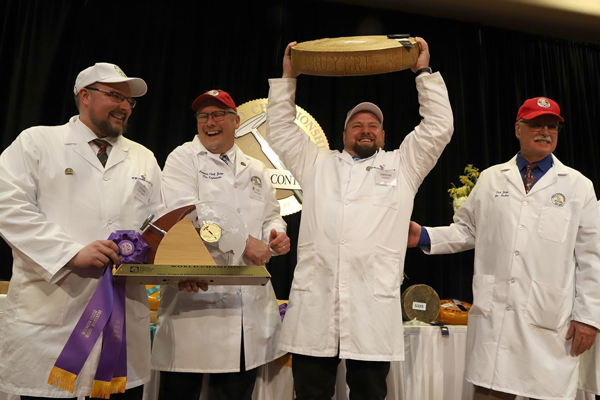 Gourmino Le Gruyère AOP, Michael Spycher, Mountain Dairy Fritzenhaus, Gourmino AG won the top title of World Champion Cheese at the 2020 World Championship Cheese Contest