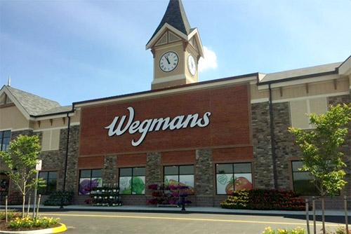 Wegmans' storefront