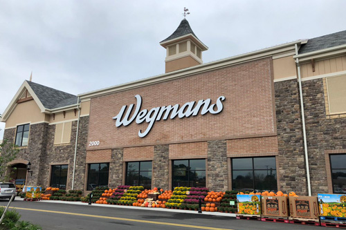 Wegmans plans to open 17 new stories, with 3 set to open in 2019