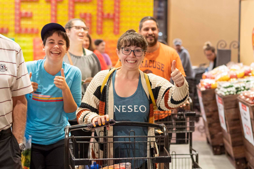 Wegmans opened its 100th store to over 3,000 customers waiting in line on its opening day