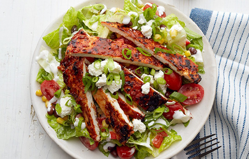 Weight Watchers BBQ Chicken Salad