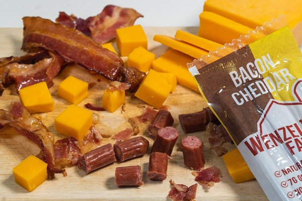 Wenzel's Farm, an award-winning, premium provider of high quality, handcrafted, small-batch meat snacks, is back to expand both palates and sales with the introduction of its latest Bacon Cheddar flavor to its famous snack stick lineup