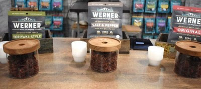 Werner Gourmet Meat Snacks' jerky is crafted in small batches and minimally processed with no artificial ingredients