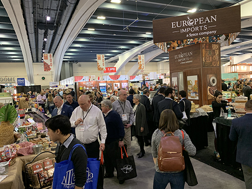 The 2019 Winter Fancy Food Show brought together 1,400 exhibitors and more than 25,000 attendees