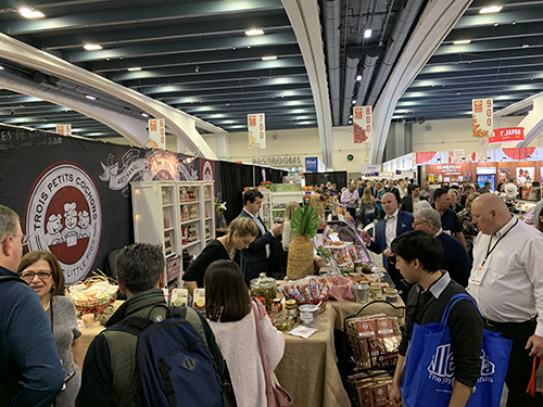 The 2019 Winter Fancy Food Show featured 230,000 square feet of exhibition and education space