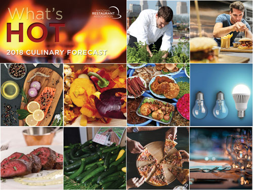 "National Restaurant Association's ""What's Hot"" 2018"