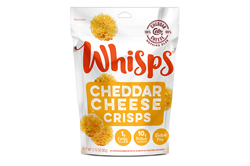 Made with 100 percent cheese, Whisps are Keto friendly