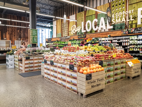 In early April, Amazon and Whole Foods Market revealed a unique strategy that included transforming the organic grocer's locations into dark stores for rising online grocery and delivery needs