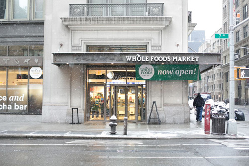 Whole Foods has introduced a bodega-like format for its new store located in Chelsea, New York