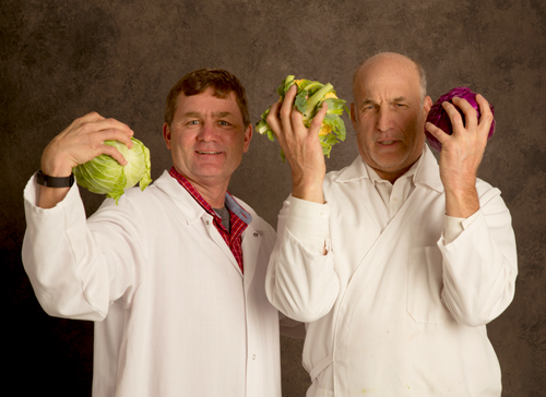 Co-Founders of wildbrine®, Chris Glab (left) and Rick Goldberg (right).