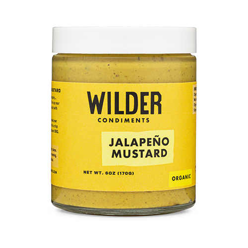 All of Wilder's mustards are made with all-natural organic ingredients, are shelf-stable, and hand-crafted under the California sun