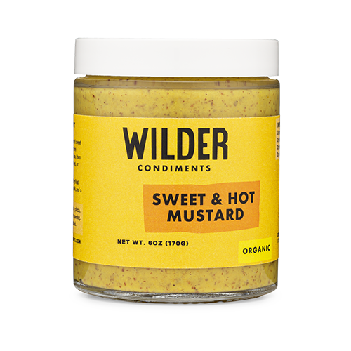 Wilder Condiments recently launched its new lineup of bold flavors: Dijonish Mustard, Sweet & Hot Mustard, Jalapeño Mustard, and a new Horseradish Mustard
