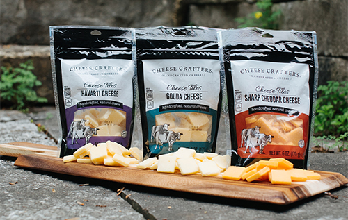 Winona Foods recently expanded its Cheese Tiles offerings by introducing new artisan flavors: Havarti, Sharp Cheddar, and Gouda