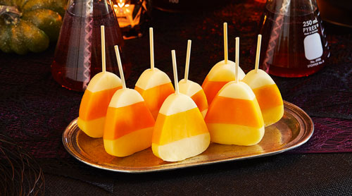 Grate. Pair. Share.'s Candy Corn Cheese Picks