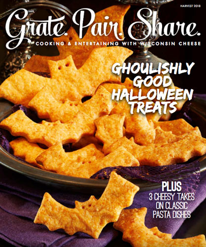 Dairy Farmers of Wisconsin's new Harvest issue of Grate. Pair. Share.
