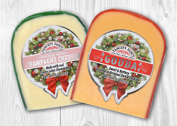 Yancey's Fancy launched its new limited edition holiday wreath labels just in time for the holidays