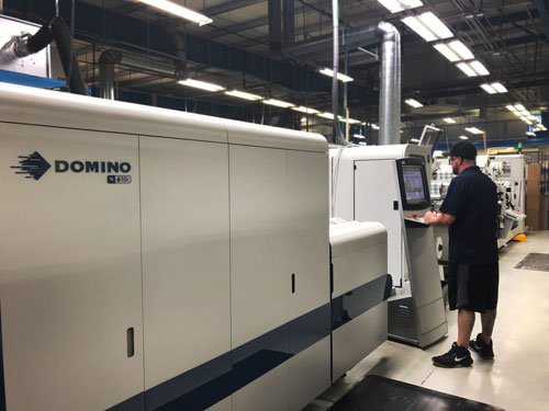 Yerecic Label announced this week that the installation of its first digital press and in-line finishing unit, the Domino N610i and ABG Digicon 3, is complete
