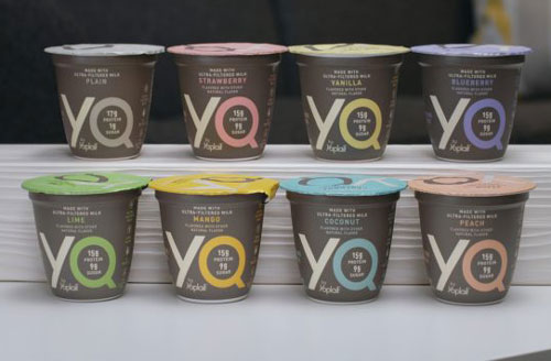 YQ is available in Coconut, Peach, Mango, Lime, Strawberry, Blueberry, Plain, and Vanilla