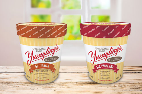 Yuengling's two new ice cream flavors: Butterbeer and Strawberry