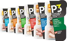 "P3 Portable Protein Packs are the ""Official Protein Snack"" of UFC"