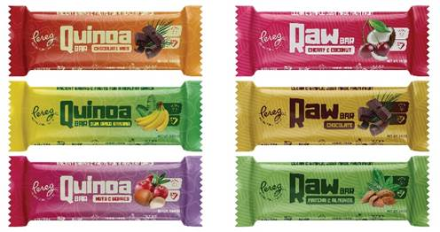 Pereg Natural Foods is introducing a new line of vegan, gluten-free bars