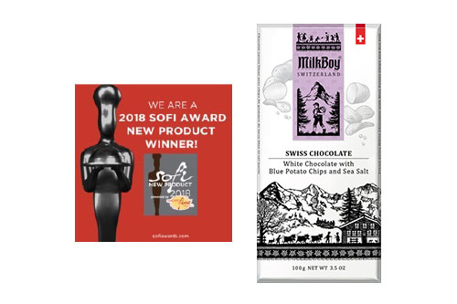 MilkBoy Swiss Chocolates is a four-time sofi Award Winner for Best Chocolates and Great Taste Award