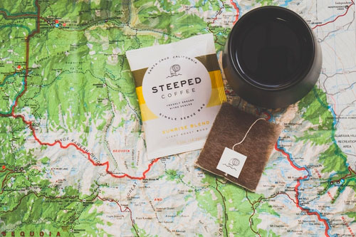Steeped Coffee's nitro sealed Steeped Bags have guilt-free packaging made using renewable and compostable materials