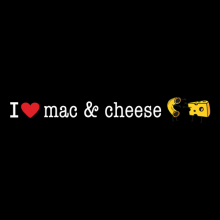 I Heart Mac & Cheese