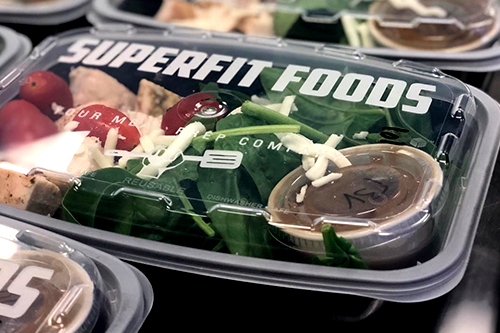 Superfit Foods is a fully customizable meal prep company