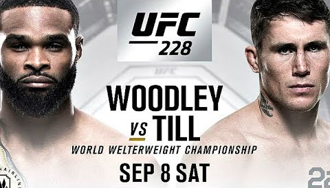 P3 will be present at UFC® 228: WOODLEY vs. TILL