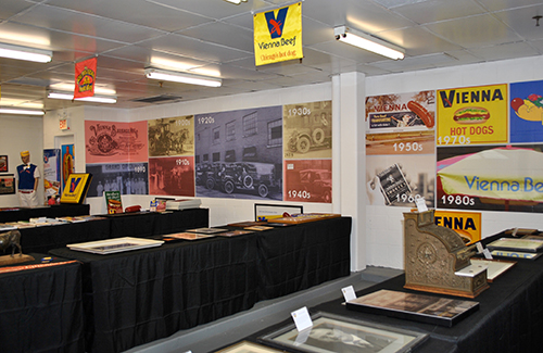 The public is invited to tour the Vienna Beef Hot Dog History Museum, enjoy Chicago Style hot dogs, and participate in exclusive activities that celebrate the iconic Chicago company
