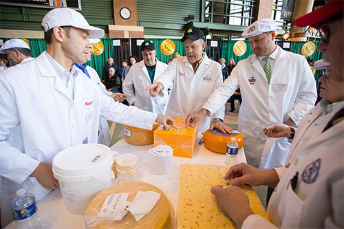 Judges will evaluate 2,555 entries at the Contest, set for March 5-7 at the Lambeau Field Atrium in Green Bay, Wisconsin